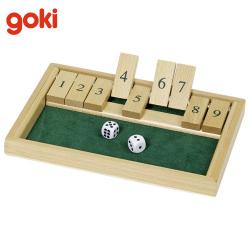 Nr. WG175 Würfelspiel Shut The Box 9 er - GoKi WG175
