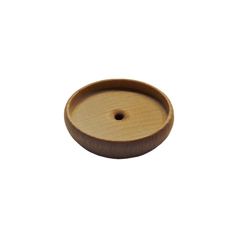 Nr. 6550 Kerzentülle aus Holz - 6550 Holzladen24.de