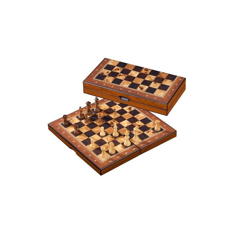 Nr.: 2621 Schachkassette, Feld 26 mm - 2621 Philos Spiele
