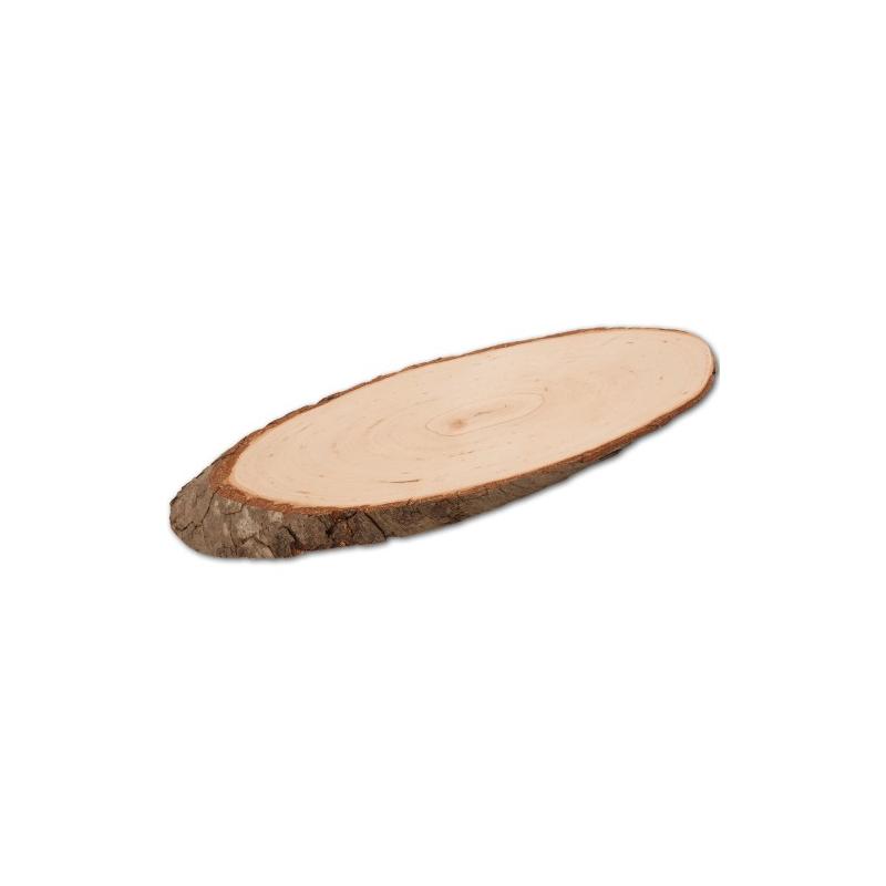 Nr. 12901 ovales Rindenbrett 27,5 cm - 12901 Holzladen24.de