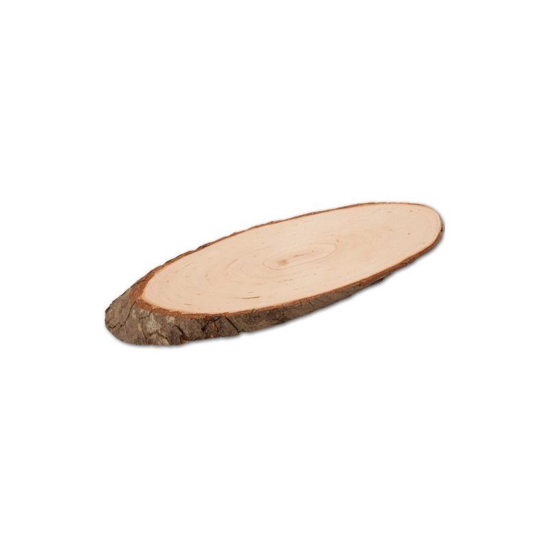Nr. 12902 ovales Rindenbrett 32,5 cm - 12902 Holzladen24.de