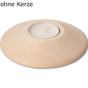 Nr.: 40014 runder Teelichthalter - 40014 Holzladen24.de