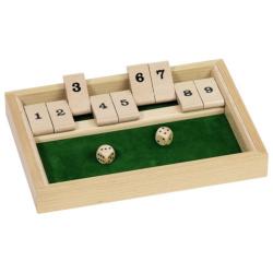 Nr.: HS075 Würfelspiel Shut the box - HS075 GoKi