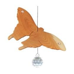 Nr.: 52010 Glitzernder Schmetterling mit Kristallperle - 52010 Sternengasse