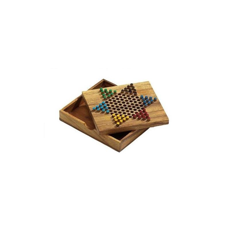Nr.: 6332 Halma aus Holz  - 6332 Philos Spiele