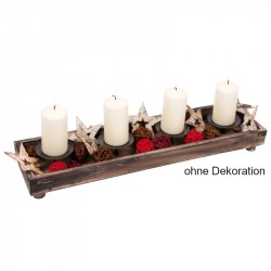 6467 natürlicher Kerzenständer - 6467 Holzladen24.de