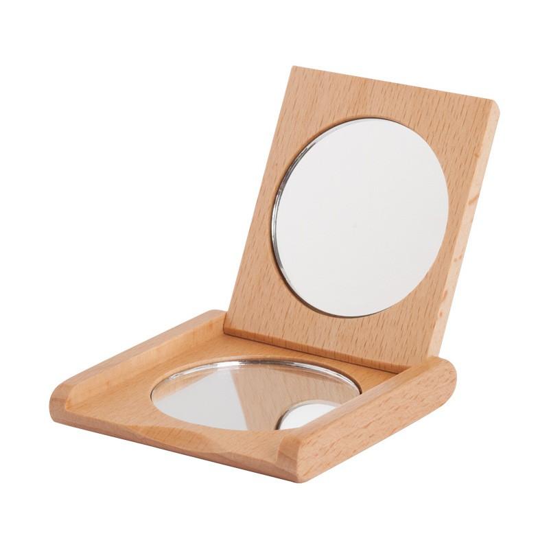 Nr.: 630080 Taschenspiegel aus Buchenholz - 630080 Holzladen24.de