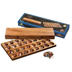 Nr.: 6305 Kalaha-Variante aus Holz - 6305 Philos Spiele