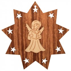Nr.: 05 Engel im Stern - 05 Holzladen24.de