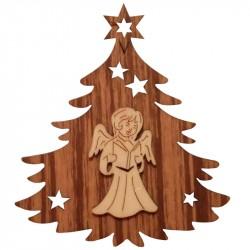 Nr.: 05TANNE Engel in Weihnachtsbaum - 05TANNE Holzladen24.de