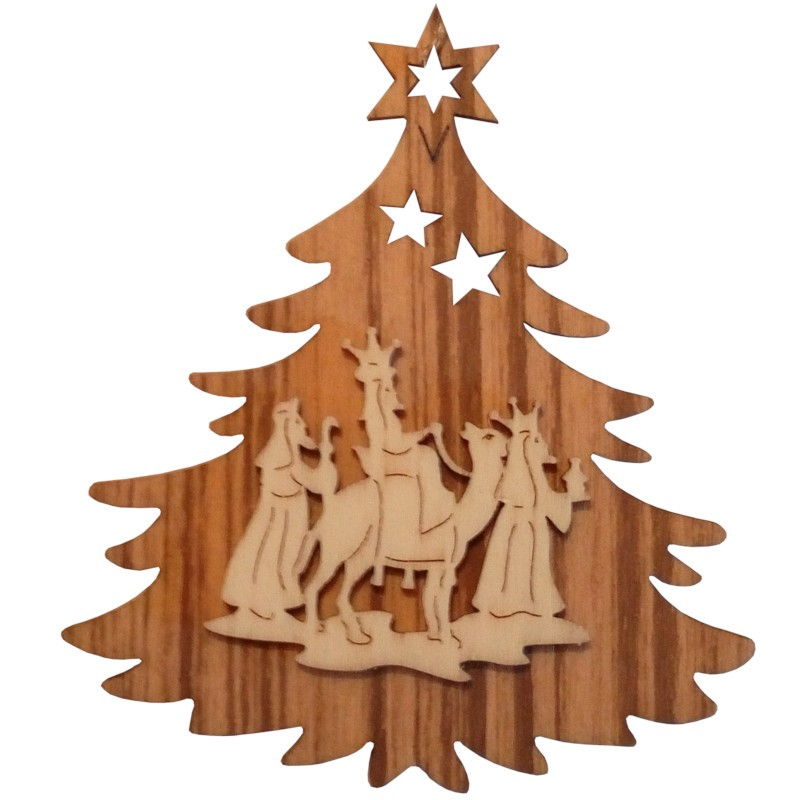 Nr.: 11TANNE Heilige drei Könige in Weihnachtsbaum - 11TANNE Holzladen24.de