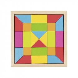 Nr.: 58588 Legespiel Regenbogen Mosaik - 58588 GoKi