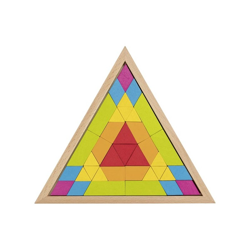 Nr.: 58590 Legespiel Dreieck Mosaik - 58590 GoKi