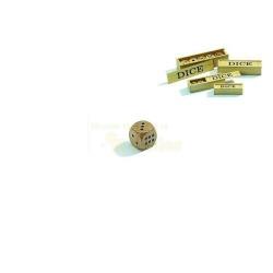 Nr.: 7002 Ein Set aus 5 Würfeln aus Holz - 7002 Philos Spiele