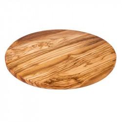 Nr.: 7120 Brotzeitbrett 30 cm aus Olivenholz - 7120 Holzladen24.de