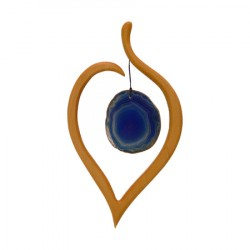 Nr.: 50590b Blaues Lindenblatt - 50590b Sternengasse