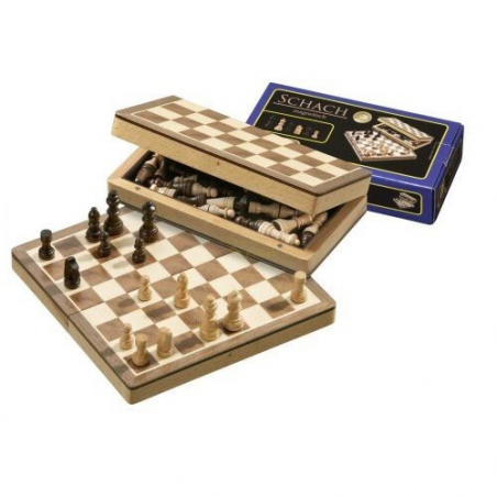 Nr.: 2723 Schach, magnetisch, Feldgröße 22 mm - 2723 Philos Spiele