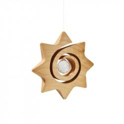 Nr.: 4304 Spiralstern mit Kristall - 4304 Waldfabrik