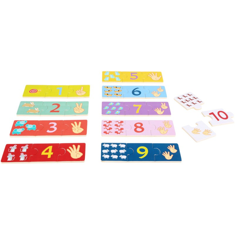 Nr.: 10679 Zahlenpuzzle - 10679 small foot design
