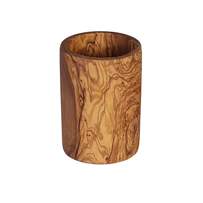 Nr.: 7087 Utensilo aus Olivenholz - 7087 Holzladen24.de
