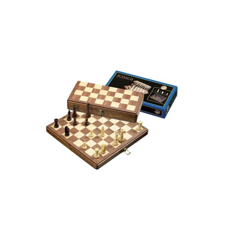 Nr.: 2625 Schachkassette, Feldgröße 33 mm - 2625 Philos Spiele