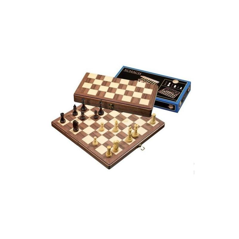 Nr.: 2626 Schachkassette, Feldgröße 42 mm - 2626 Philos Spiele