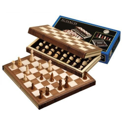 Nr.: 2705 Schachkassette, Feldgröße 32 mm - 2605 Philos Spiele