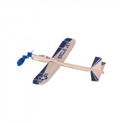 Segelflugzeug Mit Gummimotor 15505 Goki 15505