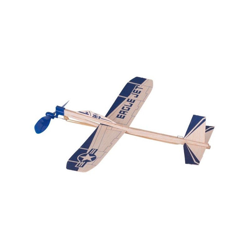 Nr.: 15505 Segelflugzeug mit Gummimotor - 15505 GoKi