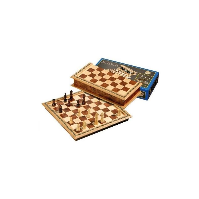 Nr.: 2714 Design Schachkassette Feldgröße 32 mm - 2714 Philos Spiele