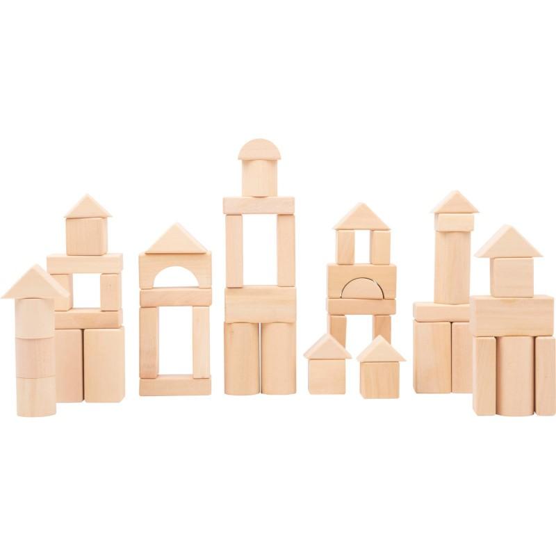Nr.: 11396 Holzbausteine 50 Teile - 11396 Holzladen24.de