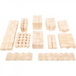 Nr.: 11397 Holzbausteine 200 Teile - 11397 Holzladen24.de