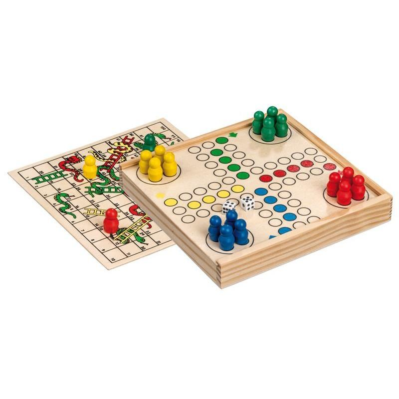 Nr.: 3095 Würfelspiel-Schlangenspiel-Kombination - 3095 Philos-Spiele