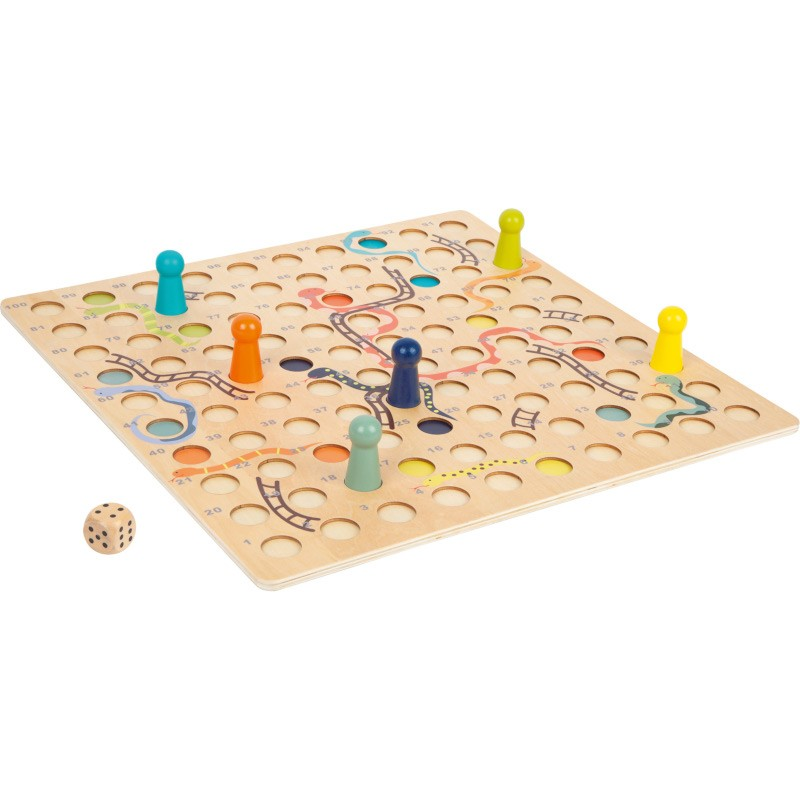 Nr.: 11785 Schlangen und Leitern-Spiel XL - 11785 small foot design