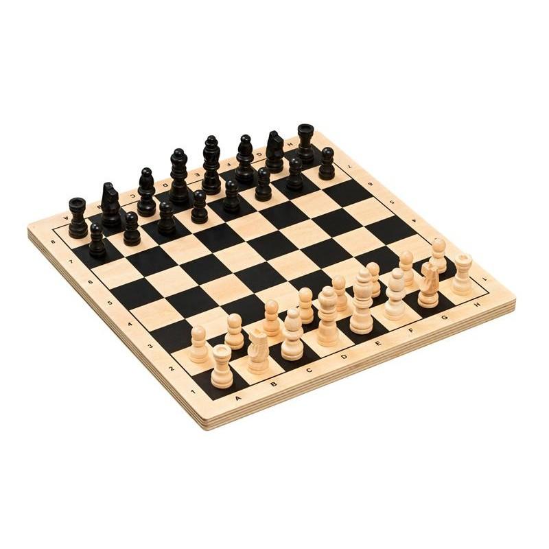 Nr.: 3296 Schachset, Feld 29 mm - 3296 Philos-Spiele