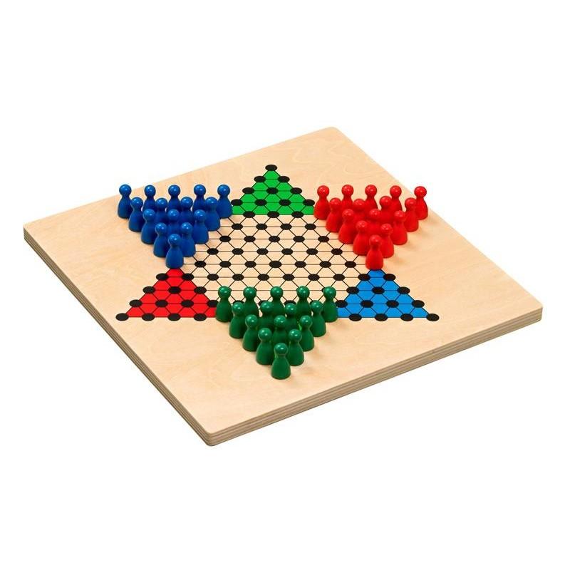 Nr.: 3294 Halma-Set aus Holz - 3294 Philos-Spiele
