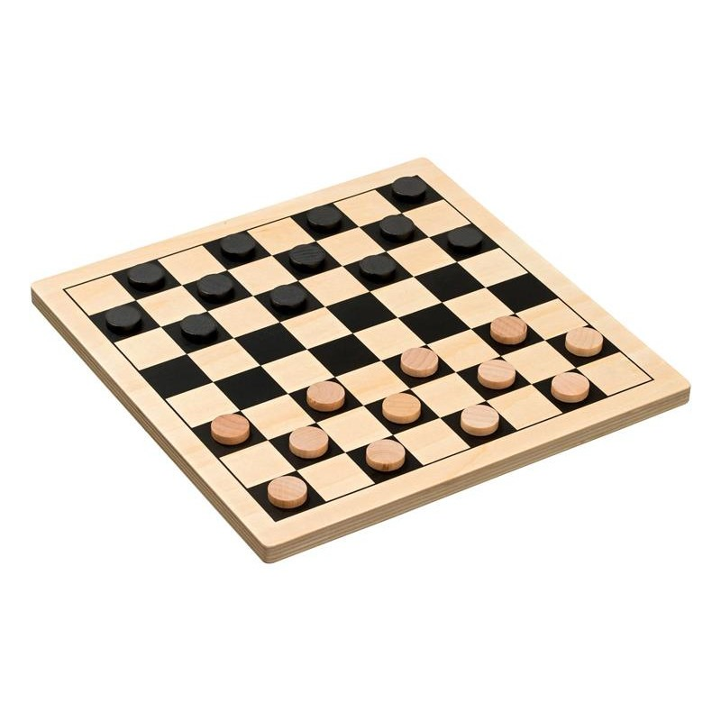 Nr.: 3292 Dame-Set aus Holz - 3292 Philos-Spiele