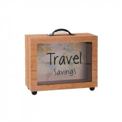 Nr.: 80930 Spardose Reisekasse - 80930 Gifts Amsterdam