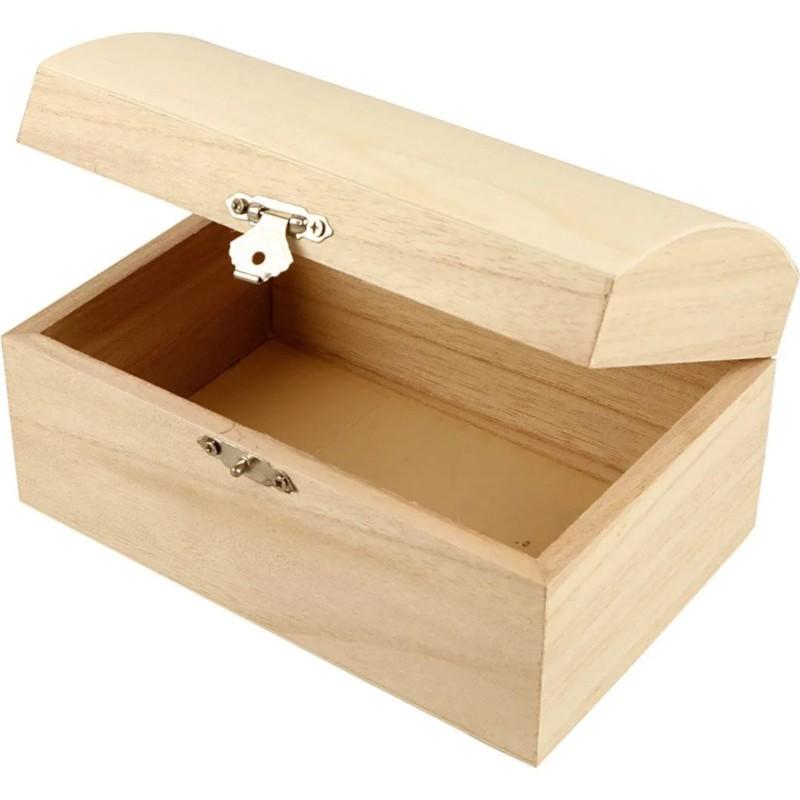 Nr.: 574950 Holztruhe 21cm - 574950 Creotime