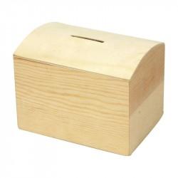 Nr.: 57579 Holzspardose 10 cm - 57579 Creotime