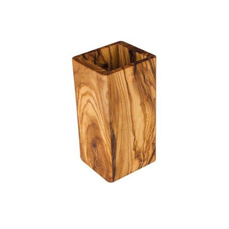 Nr.: 7090 Rechteck Utensilo aus Olivenholz - 7090 Holzladen24.de