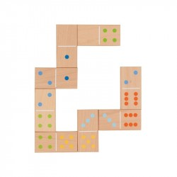 Nr.: 56758 Domino im Baumwollbeutel - 56758 GoKi