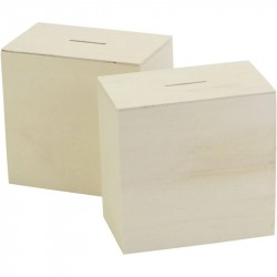 Nr.: 669041 Einfache Spardosenbox - 669041 Creotime