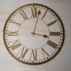 Lasergravur Uhr von Holzladen24.de