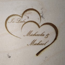 Herz als Lasergravur von Holzladen24.de