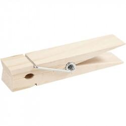 Nr.: 564560 große Holzklammer - 564560 Creotime