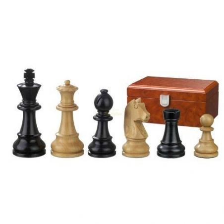 Nr.: 2126 Schachfiguren Ludwig XIV KH 110 mm - 2126 Philos Spiele