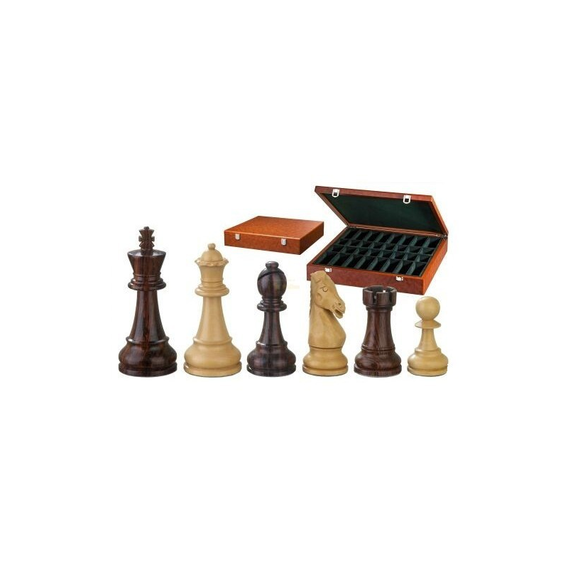Nr.: 2240 Schachfiguren Thutmosis 104 mm - 2240 Philos Spiele