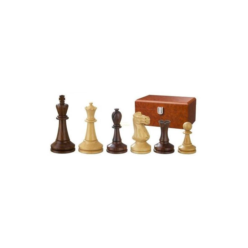Nr.: 2243 Schachfiguren Augustus 100 mm - 2243 Philos Spiele