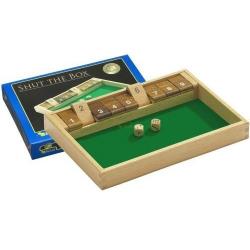 Nr.: 3119 Shut The Box 9er aus Buche - 3119 Philos Spiele